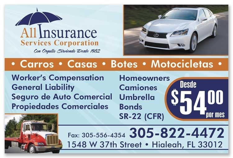 All Insurance Business Cards